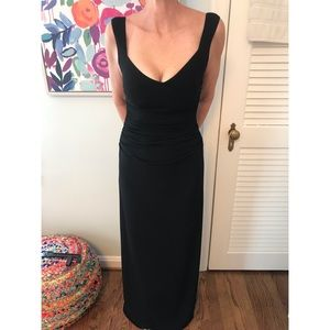 Laundry by Shelli Segal Black Gown, size 2